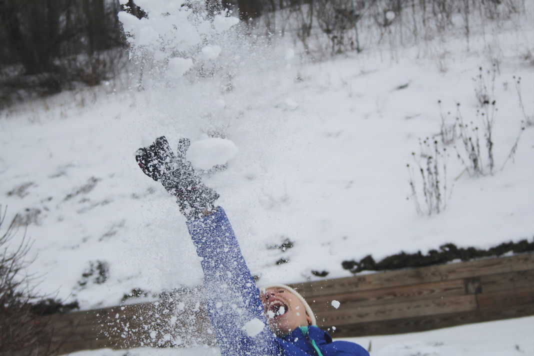 6. Playing in the Snow